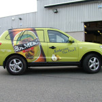 bulmers car wrap