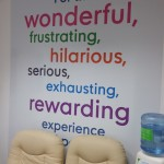 digitally printed wall graphic
