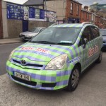kids inc car wrap