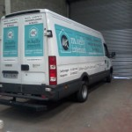 large van wrap m kelly