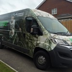 van wrap greenaer2