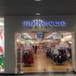 mothercare lettering signage