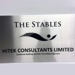 stainless steel plaque 8